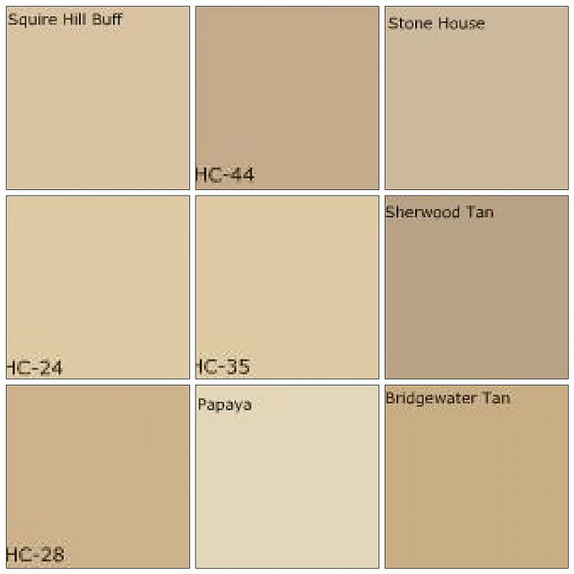 exterior paint colors beige photo - 5
