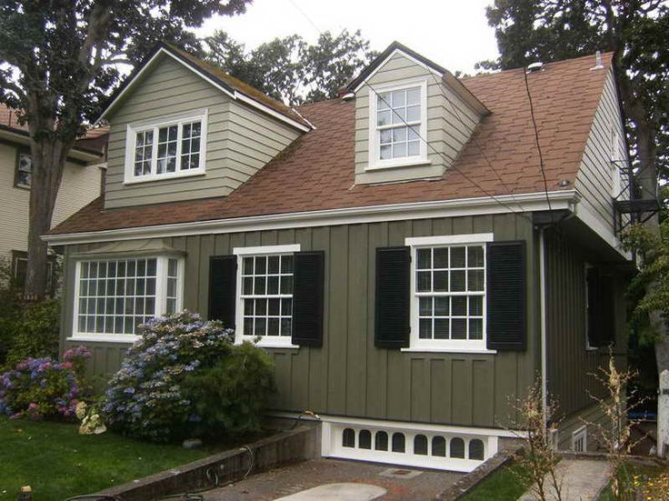 exterior paint colors brown roof photo - 1