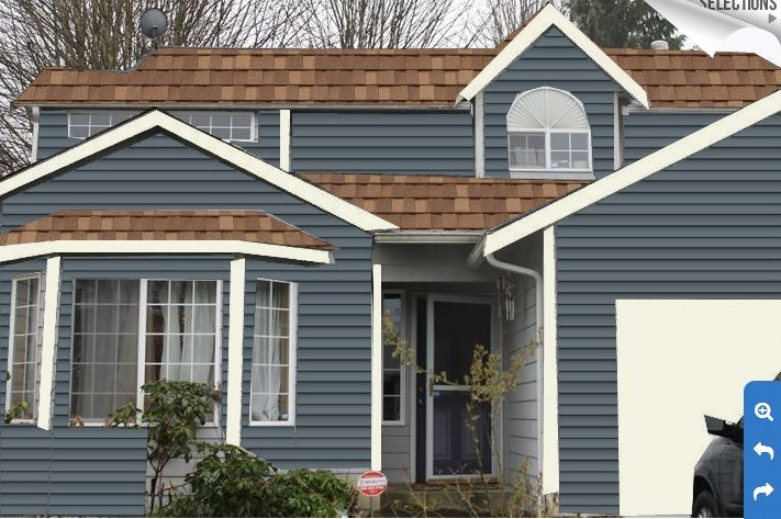 exterior paint colors brown roof photo - 6