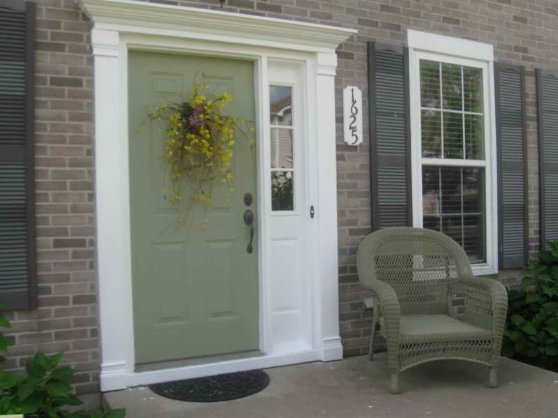 exterior paint colors doors photo - 4