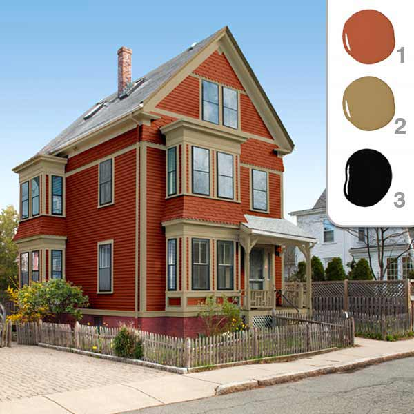 exterior paint colors for red brick homes photo - 3