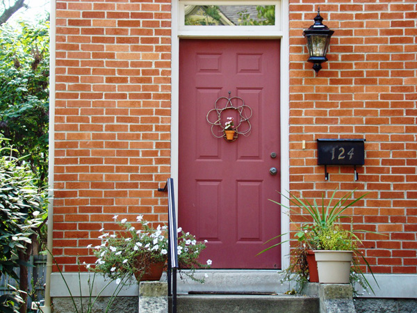 exterior paint colors for red brick homes photo - 4