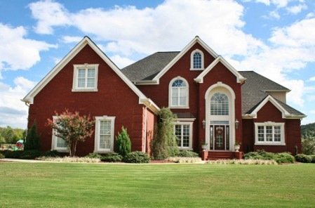 exterior paint colors for red brick homes photo - 5