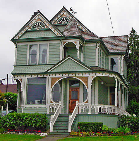 exterior paint colors victorian homes photo - 2