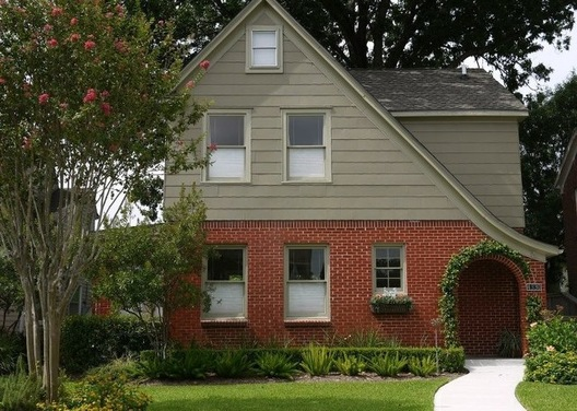 exterior paint colors with orange brick photo - 3