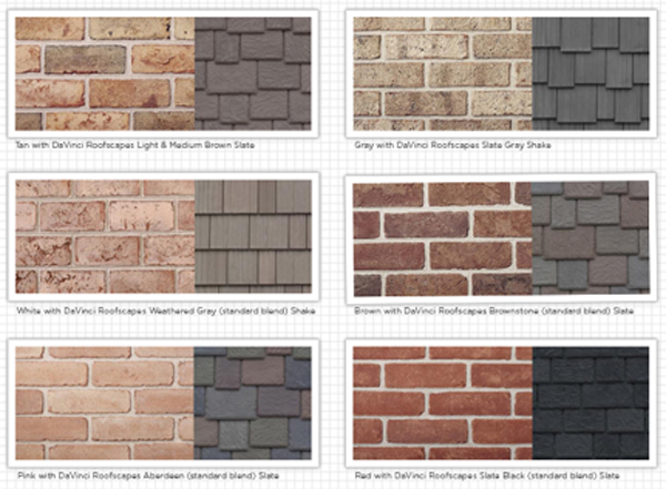 exterior paint colors with orange brick photo - 6