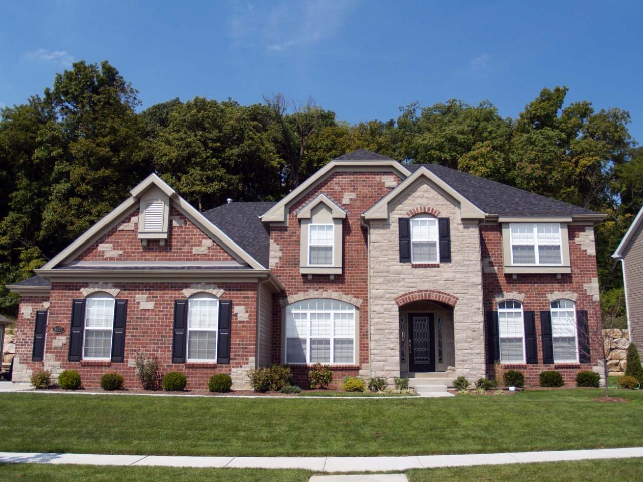 Exterior House Colors With Brick exterior paint colors with brick. exterior paint color schemes for