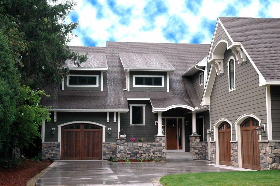 exterior paint colors with stone photo - 1