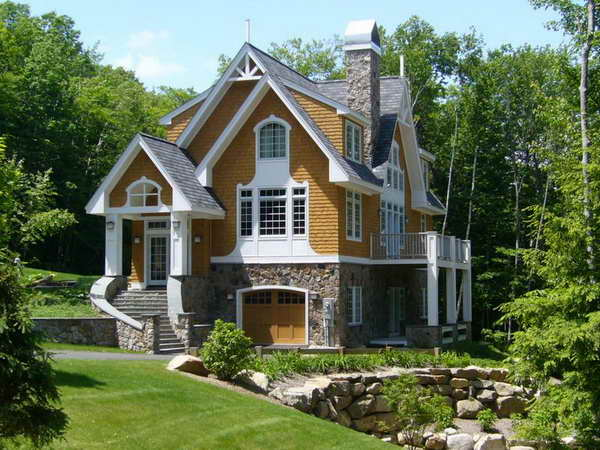 exterior paint colors with stone photo - 3