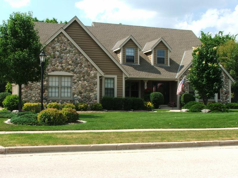 exterior paint colors with stone photo - 6