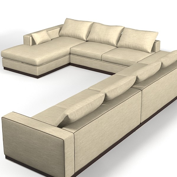 extra large modern sectional sofas photo 4  sc 1 st  Raza Foundries : big sectional sofa - Sectionals, Sofas & Couches
