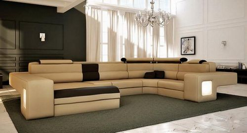 extra large sectional sleeper sofa photo - 3