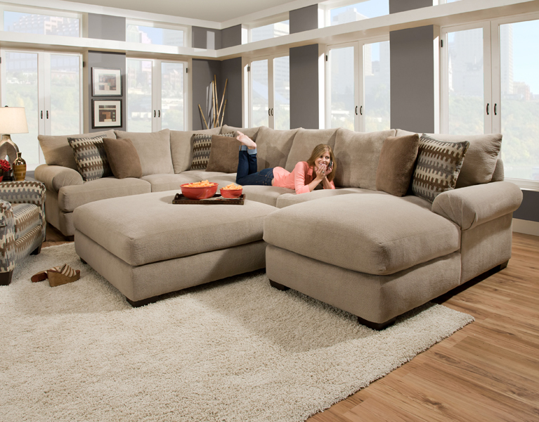 extra large sectional sleeper sofa photo - 4