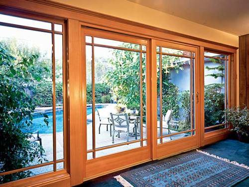 extra wide exterior french doors photo - 1