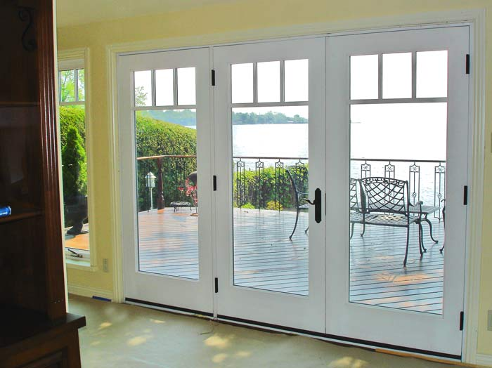 Fiberglass French Doors Exterior