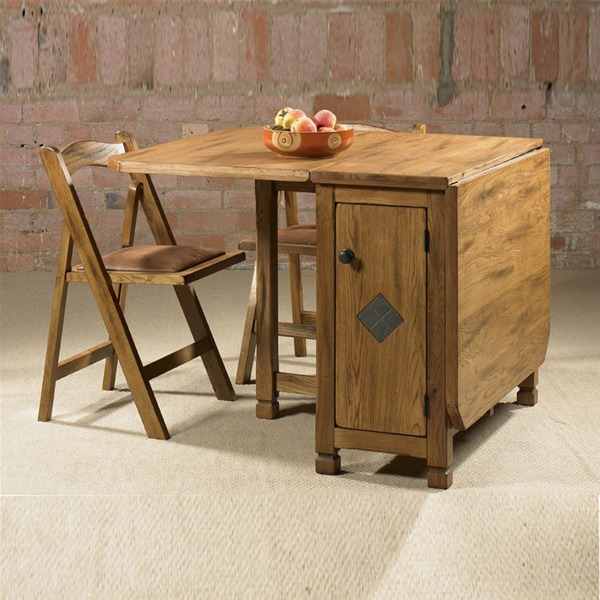 folding kitchen dining table photo - 1