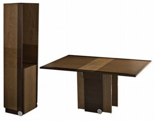 folding kitchen dining table photo - 5