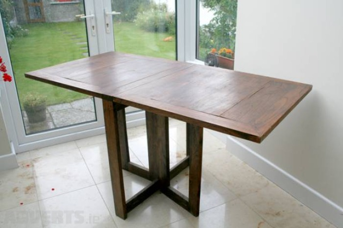 folding kitchen table photo 6