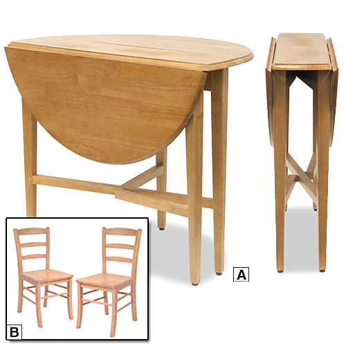 Folding kitchen table and chairs | Interior & Exterior Doors