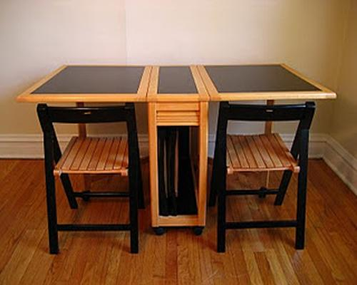 Folding Kitchen Table And Chairs Set Interior Exterior