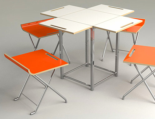 Kitchen Folding Table And Chairs