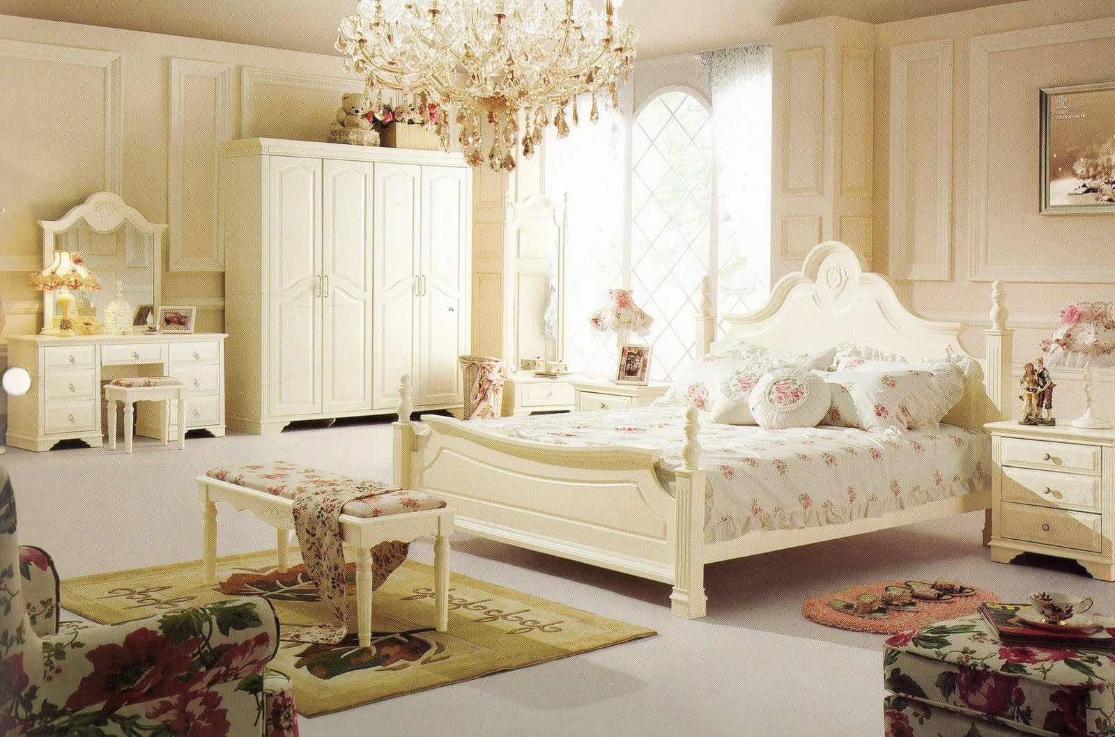 french bedroom furniture for girls photo - 5