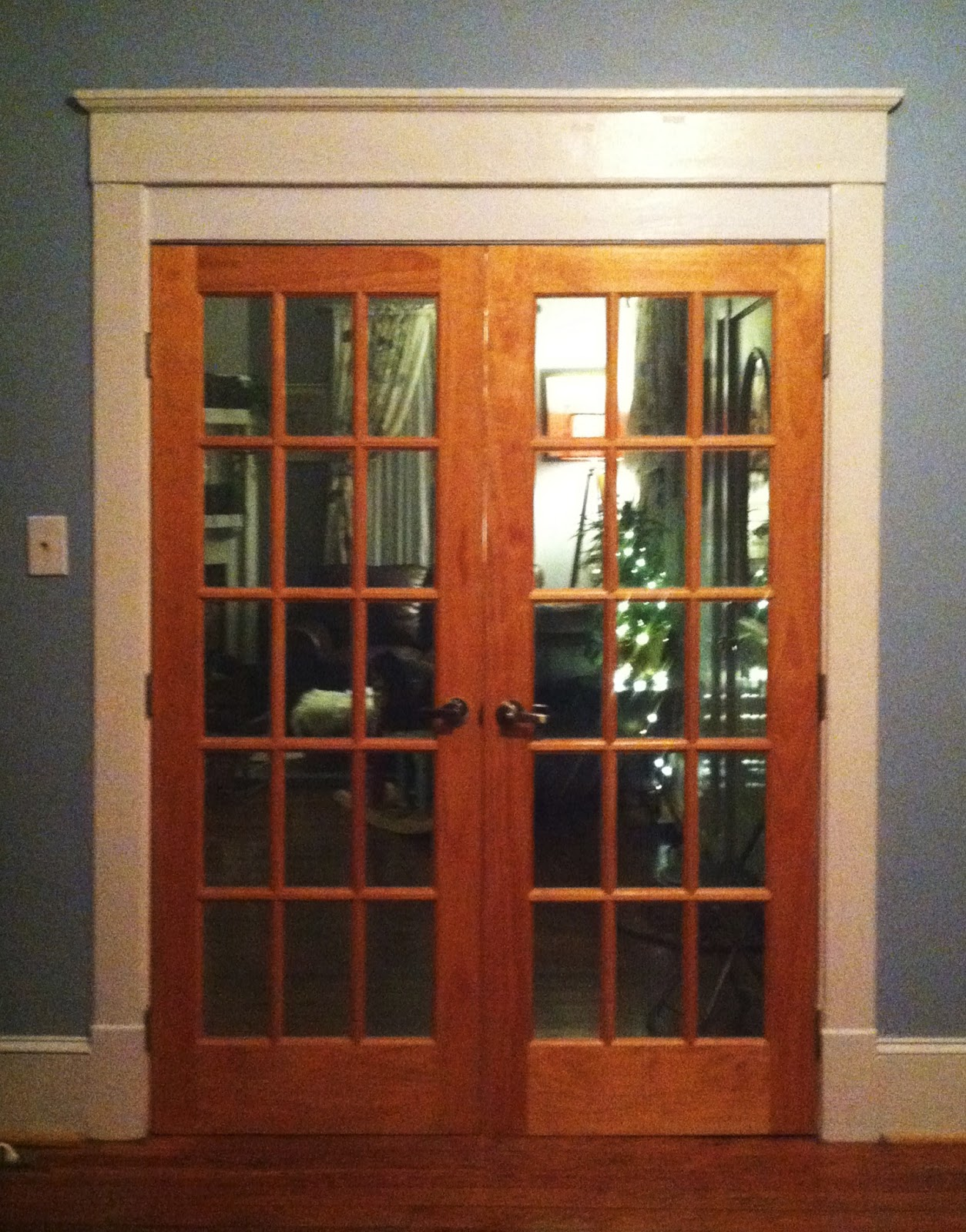 Wooden french doors exterior examples ideas pictures for Exterior front double doors