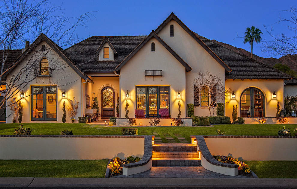 french country exterior ideas photo - 1