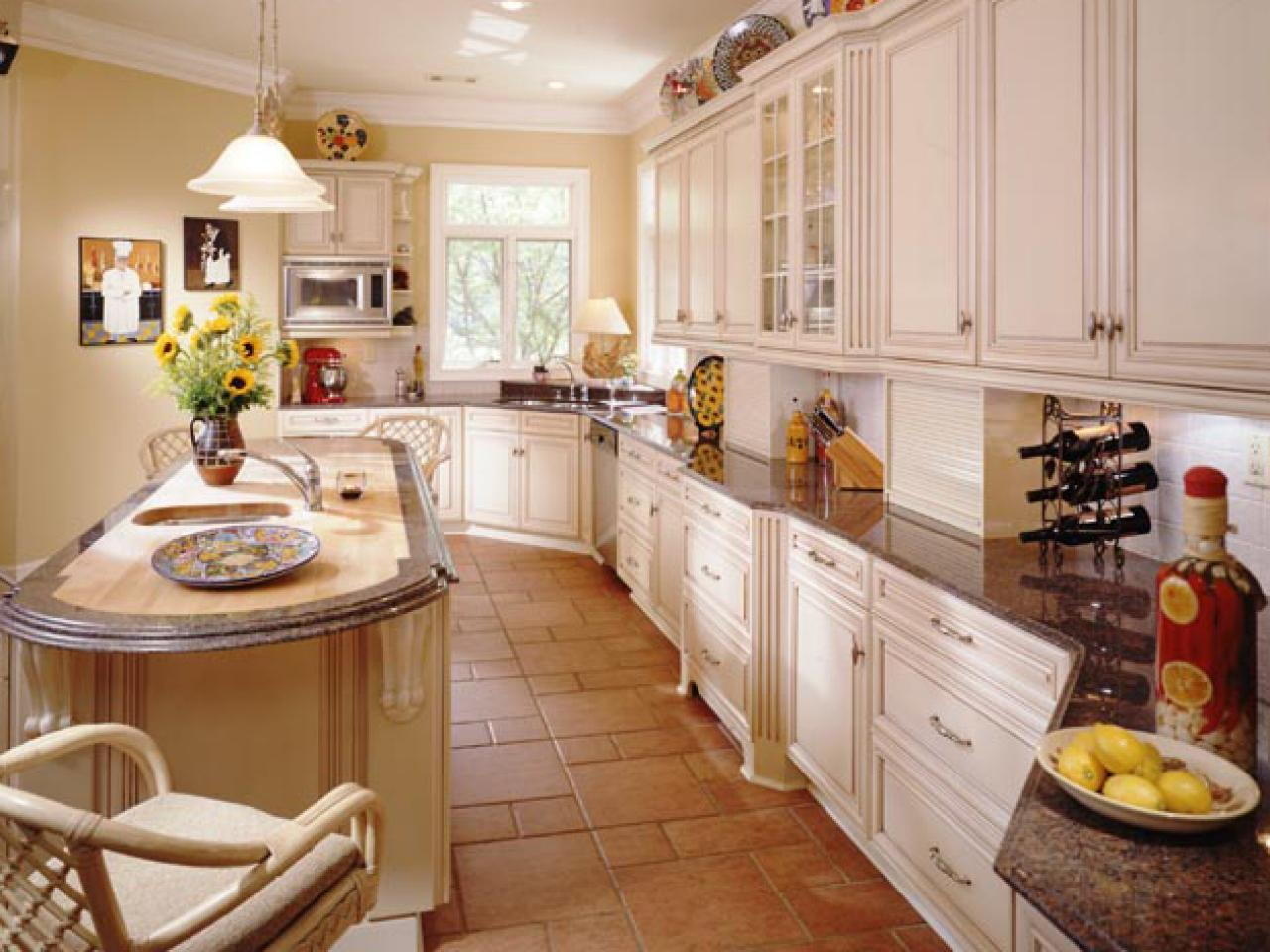 french country gourmet kitchen photo - 6