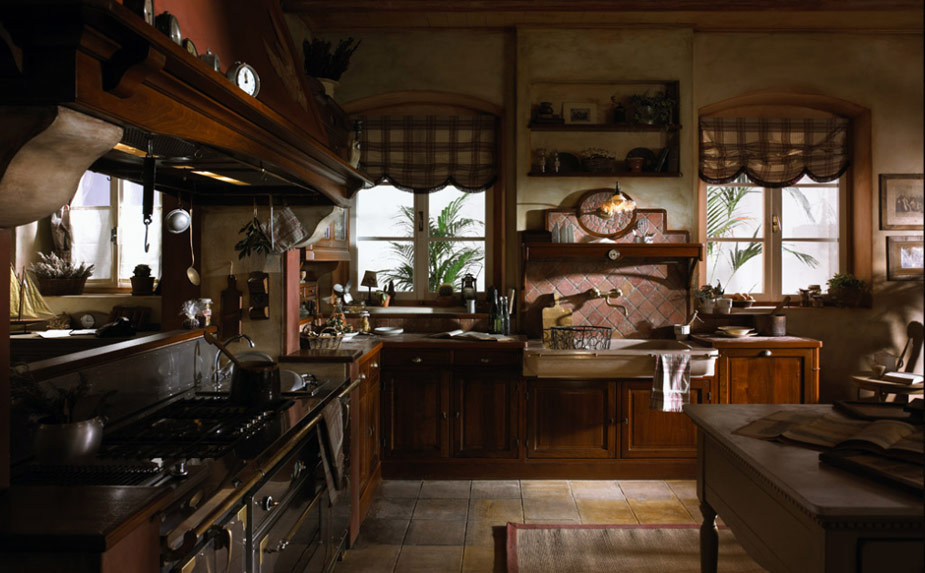 french country kitchen photo - 2