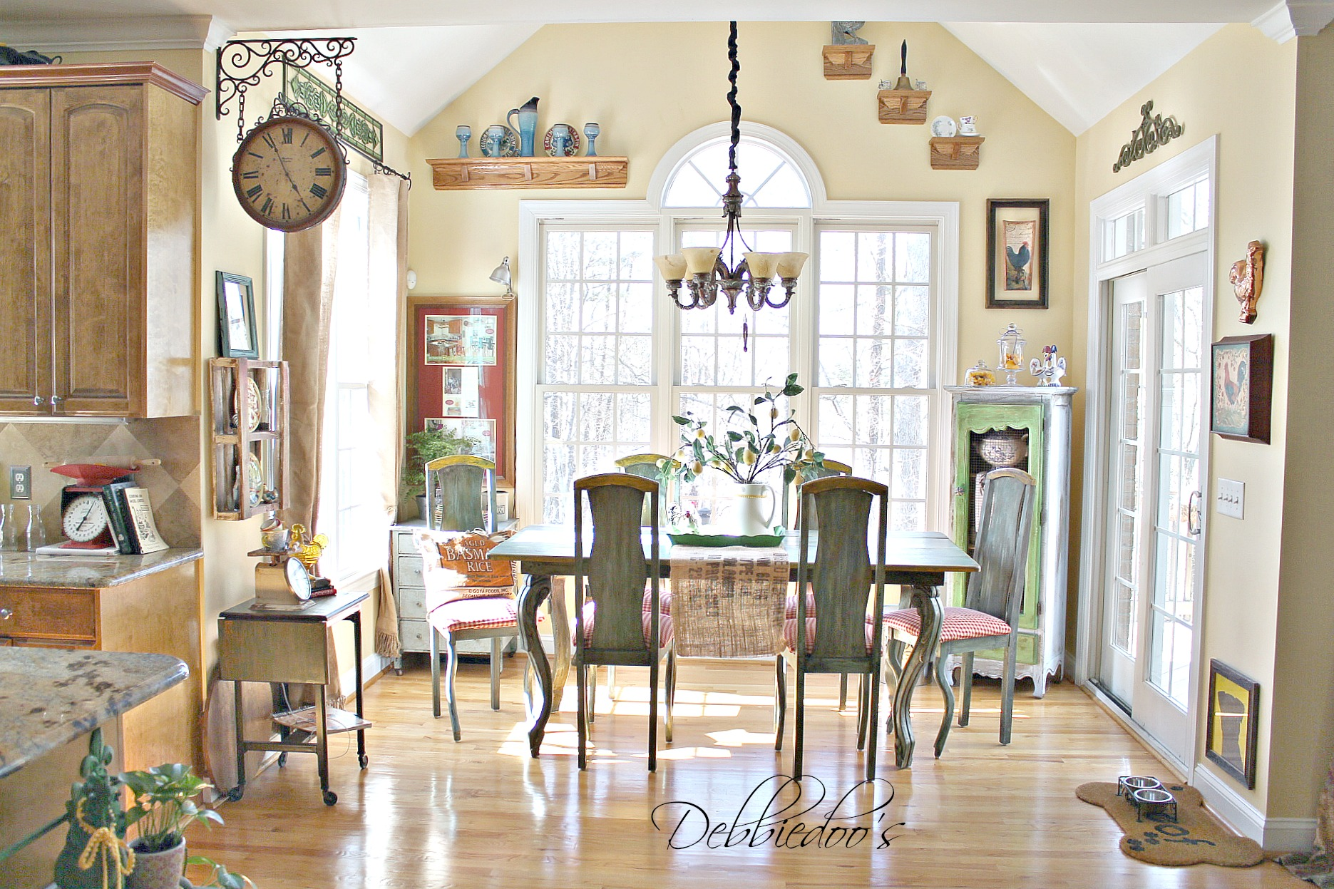 french country kitchen photo - 3