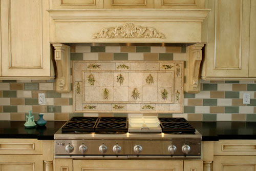 french country kitchen backsplash ideas photo - 1