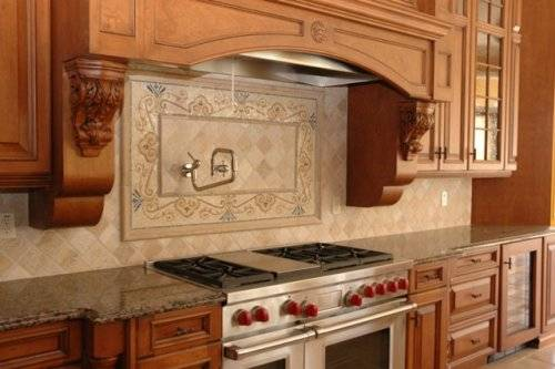french country kitchen backsplash ideas photo - 3
