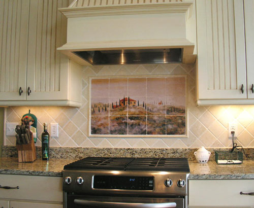 french country kitchen backsplash ideas photo - 4
