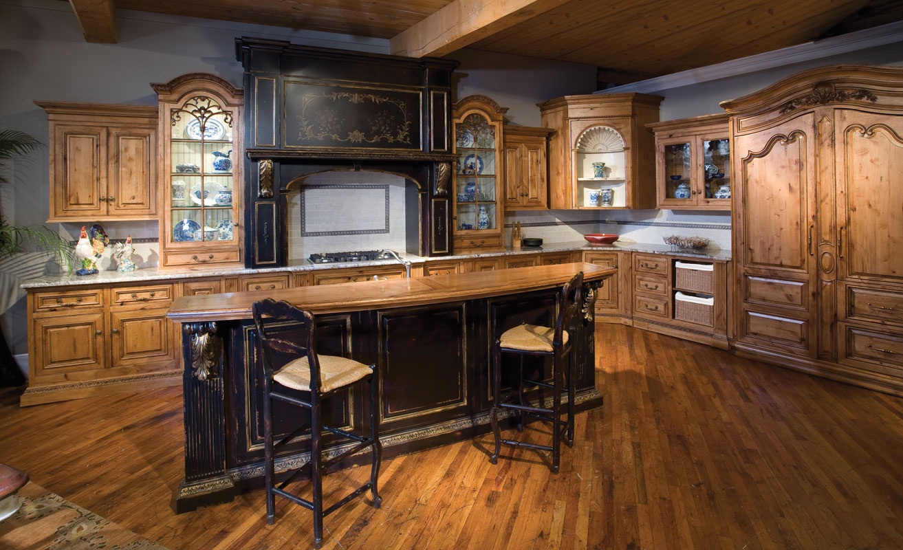 french country kitchen bar stools photo - 3
