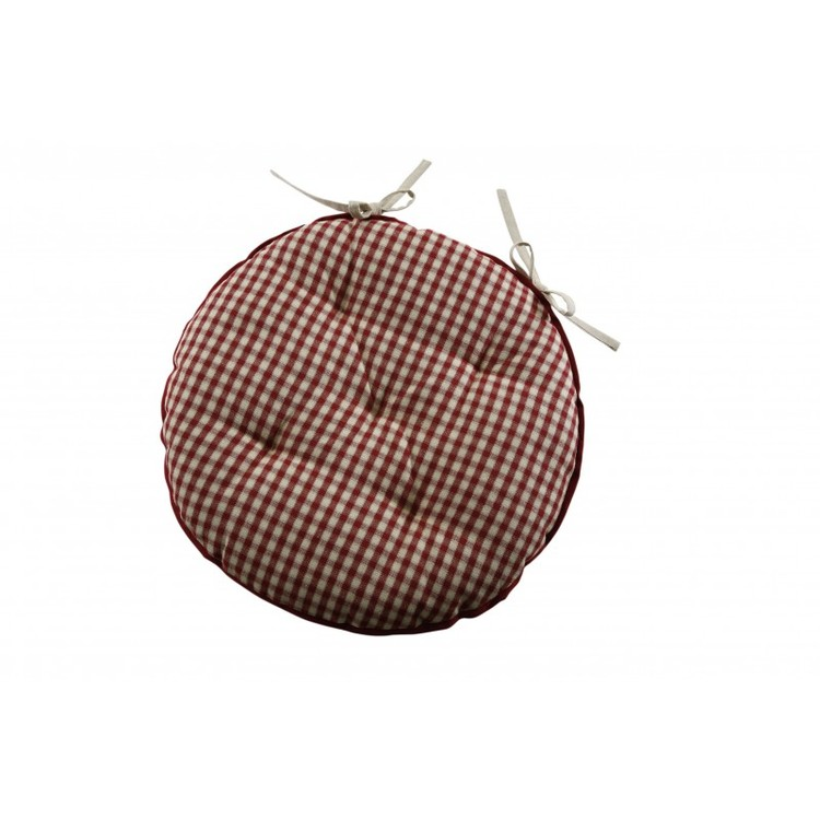 Round Chair Cushions With Ties Designs
