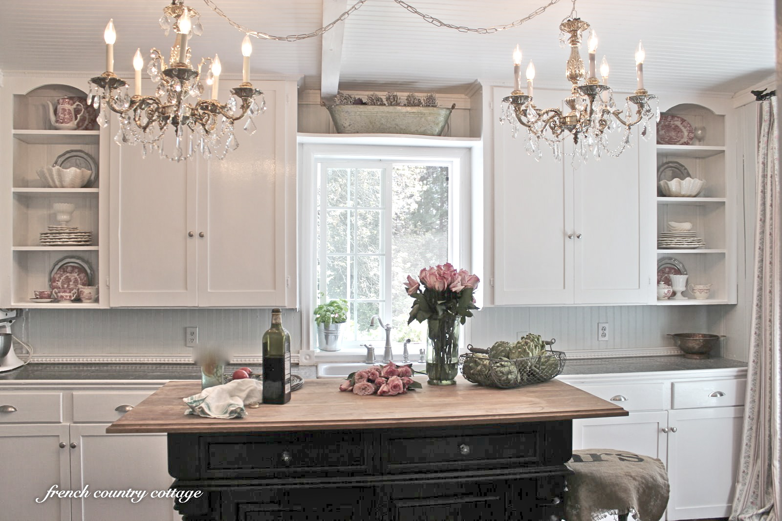 French Country Kitchen Chandelier Photo 3