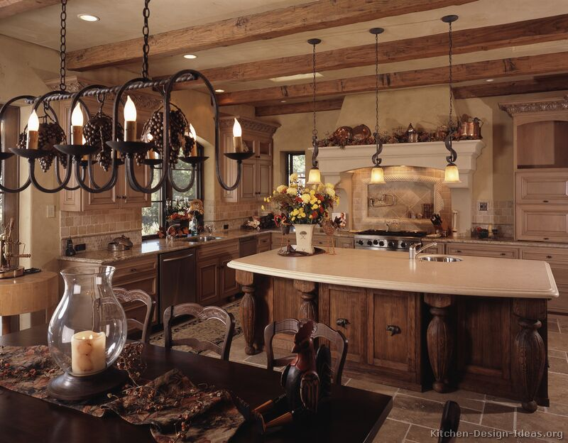 french country kitchen cupboards photo - 6