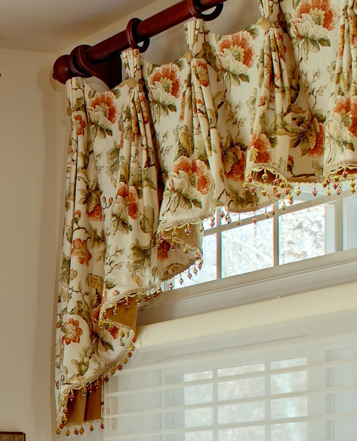 french country kitchen curtain ideas photo - 2