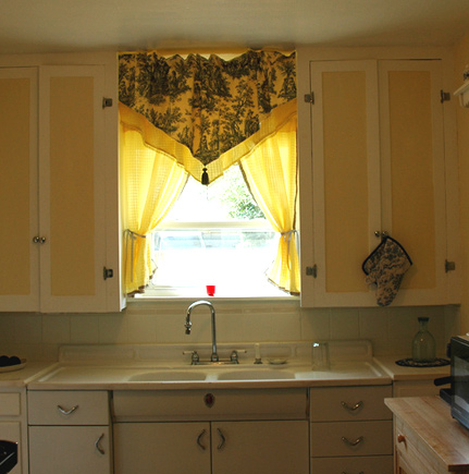 french country kitchen curtain ideas photo - 4