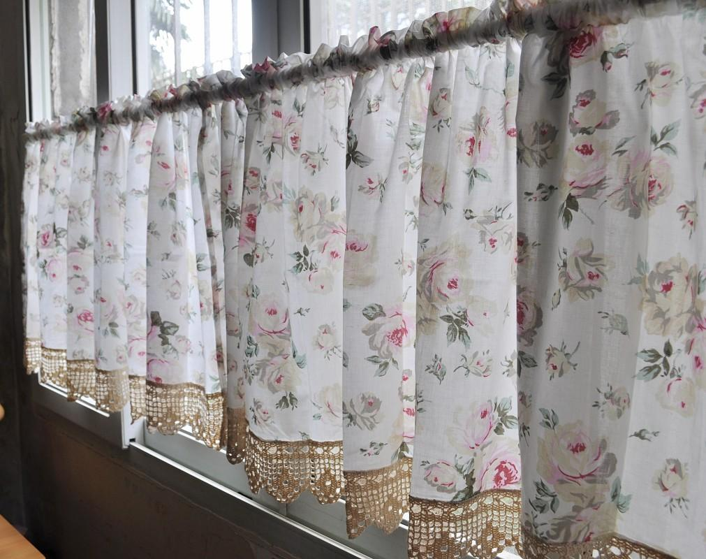 French country kitchen curtains interior exterior ideas for Country kitchen curtain ideas