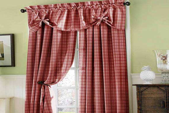 French Country Kitchen Curtains Valances Farm