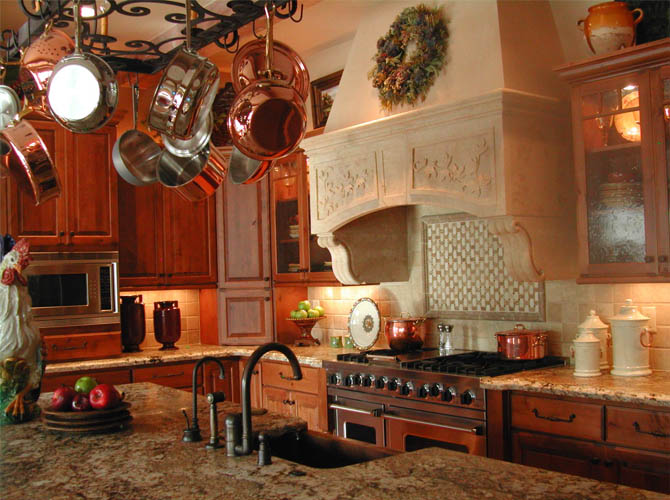 french country kitchen decor photo - 1