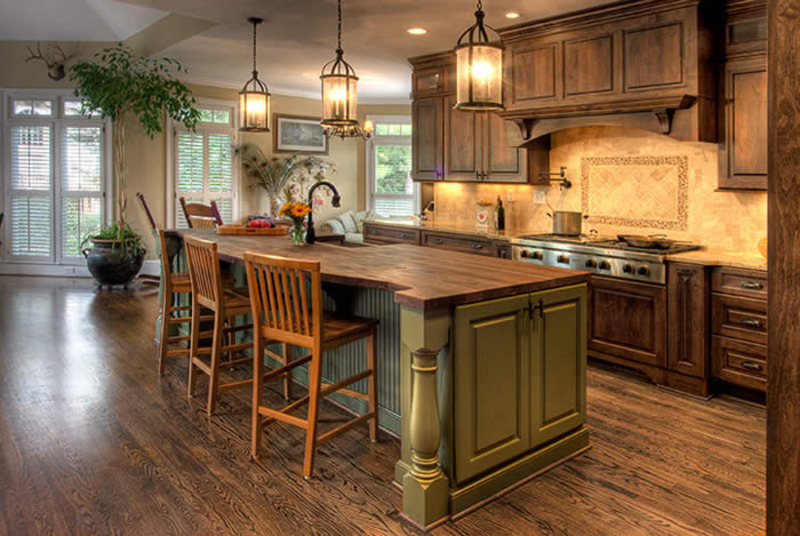 french country kitchen design ideas photo - 4