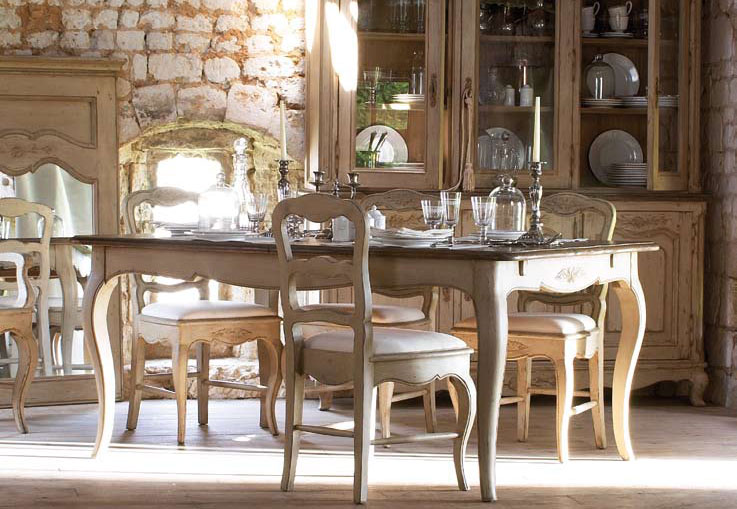 french country kitchen dining sets photo - 6