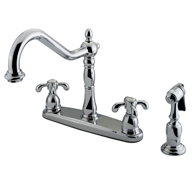 French Country Kitchen Faucet Photo   5