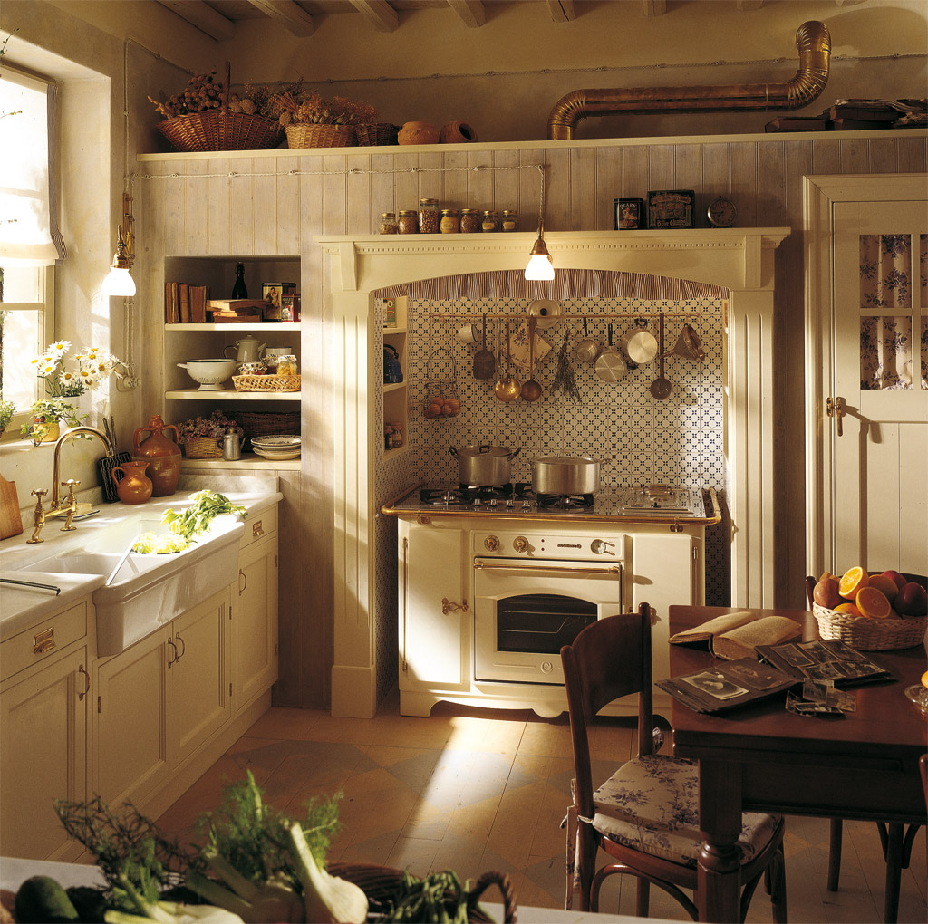french country kitchen fixtures photo - 1
