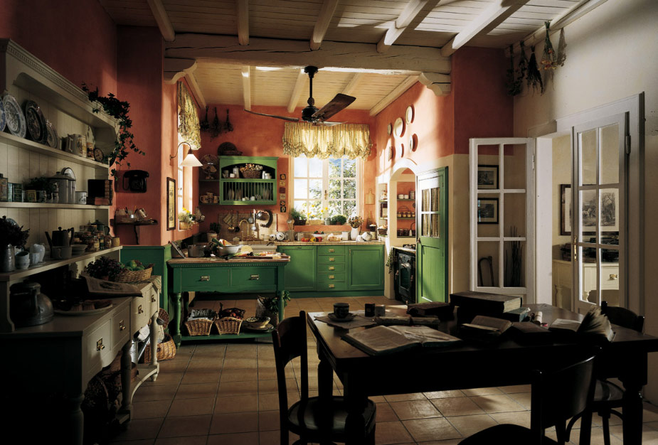 french country kitchen gallery photo - 2