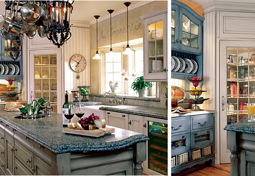 french country kitchen home photo - 4