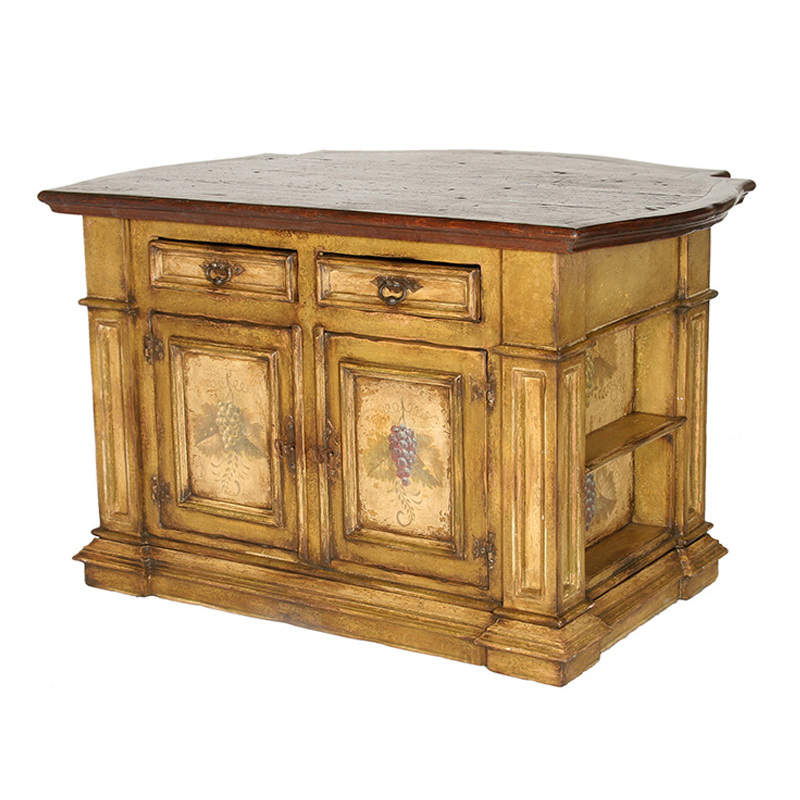 french country kitchen island photo - 3